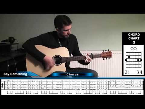 How To Play Say Something By Justin Timberlake On Acoustic Guitar